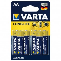 Piles LongLife Extra Varta LR6 BP4+2