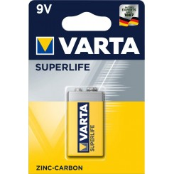 PILE SUPERLIFE VARTA 9V PB1