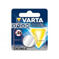 Piles électronique CR2016 VARTA Lithium 3V