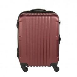 Valise Moyen Modèle Princess Pése bagage integré 66cm Rouge bordeaux(32009)