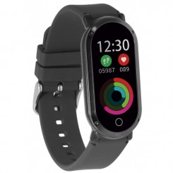 Montre connectée Ksix BXSBHR01 Fitness Band HR 3 Sport - Noir