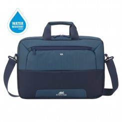 "Sacoche bicolore pour ordinateurs portables 15.6"" RIVACASE 7737 steel blue/aquamarine"