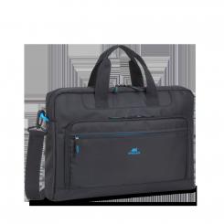 """Sacoche bicolore pour ordinateurs portables 17.3"""" RIVACASE 8059 Noir"""