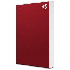 "Disque dur 1To Backup plus slim SEAGATE - USB 3.0 2.5"" - Rouge"