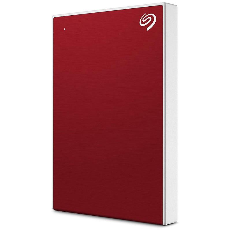 "Disque dur 1To Backup plus slim SEAGATE - USB 3.0 2.5"" - Rouge"