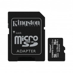 CARTE MEMOIRE SD-HC Kingston 16GB CLASS-10