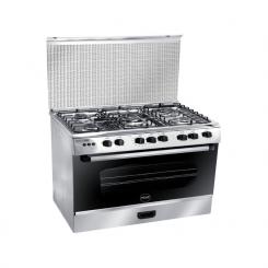 Cuisiniére AZUR AZ6080INX 60cm 5 feux - Inox