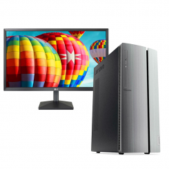 PC de Bureau Lenovo IdeaCentre 510 - i3 8é Gèn - 4Go - 1To