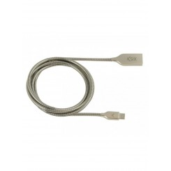 FLEXTEEL SYNC & CHARGE CABLE Ksix USB-MICRO USB 2.4A
