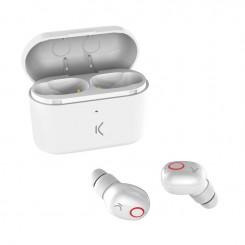 Écouteurs Sans Fil KSIX BXATWS02 Avec Micro - Blanc