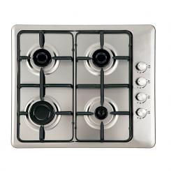Plaque de cuisson FRANCO 60341-I 4 Feux 60 cm - Inox