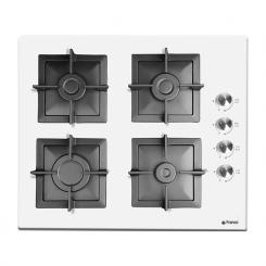 Plaque de cuisson FRANCO 60346-WF 4 Feux 60 cm - Blanc