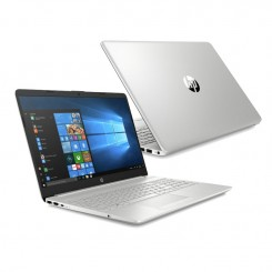 PC Portable HP Notebook 15-dw0004nk - i7 8é Gèn - 8Go - 1To+128GoSSD - Windows 10 Silver (7AQ99EA)