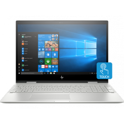 PC Portable HP Envy x360 15-cn1001nk - i5 8é Gèn - 8Go - 1To+128GoSSD - Windows 10 Silver (6EK92EA)