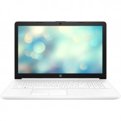 PC Portable HP 15-da0081nk - Celeron N4000 - 4Go - HDD 1To - Blanc (8UP59EA)