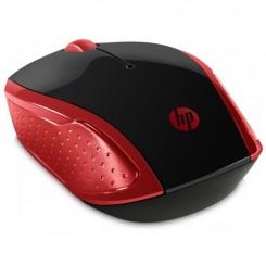 Souris Optique HP sans Fil 200 - Rouge (2HU82AA)