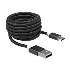 Cable micro usb Sbox 10315 1M - Noir