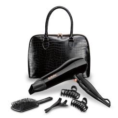 Coffret BABYLISS 5737PE Sèche Cheveux + Sac à main + Brosse + 4 pinces
