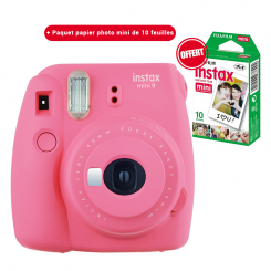 Appareil photo Instax mini 9 Fujifilm Flamingo Pink