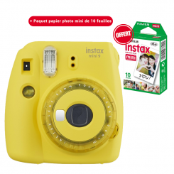 Appareil photo Instax mini 9 Fujifilm Jaune