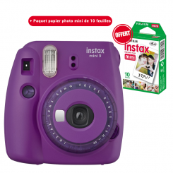 Appareil photo Instax mini 9 Fujifilm Violet