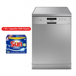 Lave Vaisselle BRANDT DFH13217X 13 Couverts - Inox