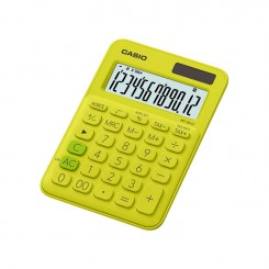 Calculatrice de bureau Casio - MS-20UC - Jaune