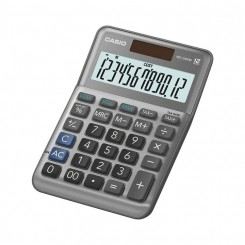 Calculatrice de bureau Casio - MS-120FM - Silver