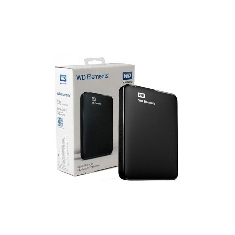 Disque dur externe Western Digital Elements 1To - USB 3.0 2.5""