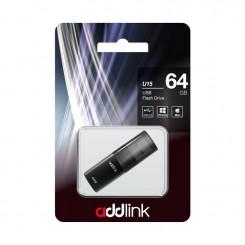 Clé USB ADDLINK Drive U15 64Go - Gris (AD64GBU15G2)