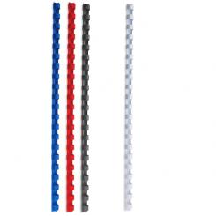 Baguettes à relier A4 paquet de 100 - 14mm - couleur