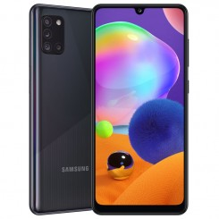"Smartphone Samsung Galaxy A31 - 128 Go - 6.4"" - Double SIM - Noir + SIM Voix 5dt Ooredoo (SM-A315F/DS)"