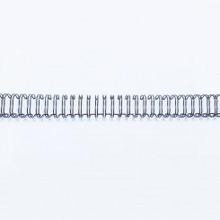 """Spirale métallique 1/2"""" wire combs 3.1 (12.7mm) Noir"""