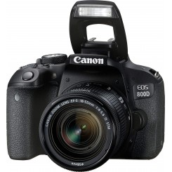 Reflex Canon EOS 800D + Objectif 18-55mm IS STM
