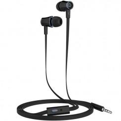 Ecouteurs avec Microphone Ksix BXGPS15 / Noir