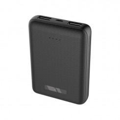 Mini POWER BANK 10000mAh Ksix +CABLE MICRO USB / Noir