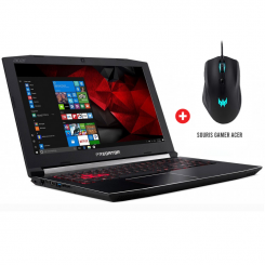PC Portable Gaming Acer Predator Helios 300 - i7 8é gén - 8Go - 1To + 128Go SSD - Nvidia GTX 6Go - Windows 10