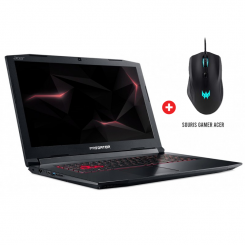 PC Portable Gaming Acer Predator Helios 300 PH317-52-75DB - i7 8é gén - 8Go - 1To + 128Go SSD - Nvidia GTX 4Go - Windows 10
