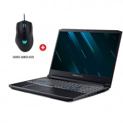 PC Portable Gaming Acer Predator Helios 300- i5 9é gén - 8Go - 1To + 256Go SSD - Nvidia GTX 6Go - Windows 10