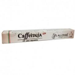Capsule Café italia NESPRESSO allongé