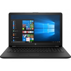 PC Portable HP Notebook 15-dw2011nk - i3 10è Gèn - 4Go - HDD 1To - Noir (2S529EA)