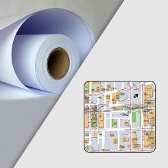 Rouleau Papier pour Tireuse de plan Evolution 120gr (91.4*150)