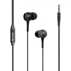 Écouteurs stéréo avec micro Promate Bent / Noir