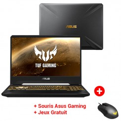 PC Portable Gaming ASUS TUF505DT-NR330T - AMD RYZEN 5 - 8Go - 512SSD - Nvidia GTX 4Go