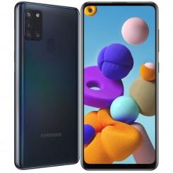 "Smartphone Samsung Galaxy A21S - 64Go - 6.5"" - Noir"