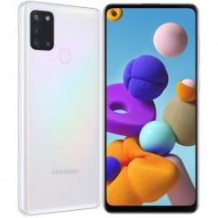 """Smartphone Samsung Galaxy A21S - 64Go - 6.5"""" - Blanc"""
