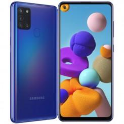 "Smartphone Samsung Galaxy A21S - 64Go - 6.5"" - Bleu"