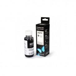 BOUTEILLE D'ENCRE HP adaptable GT51 NOIR (100ml)