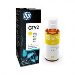 BOUTEILLE D'ENCRE HP adaptable GT52 JAUNE (70ml)