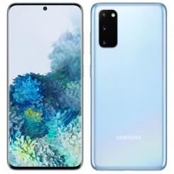 "Smartphone Samsung Galaxy S20 - 6.2"" - Double SIM - Bleu"